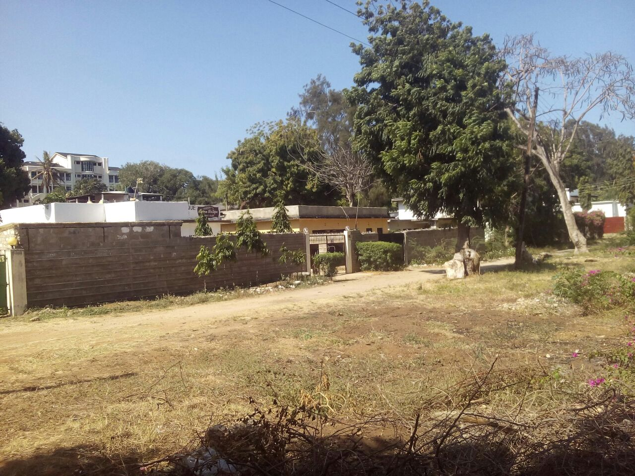 Plot for sale in malindi town